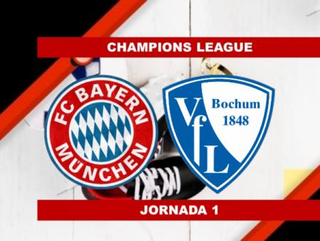 Pronósticos para Bundesliga | Apostar en el partido Bayern Munich vs Bochum (18 Sept.)
