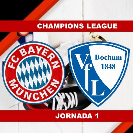 Pronósticos para Bundesliga   Apostar en el partido Bayern Munich vs Bochum (18 Sept.)