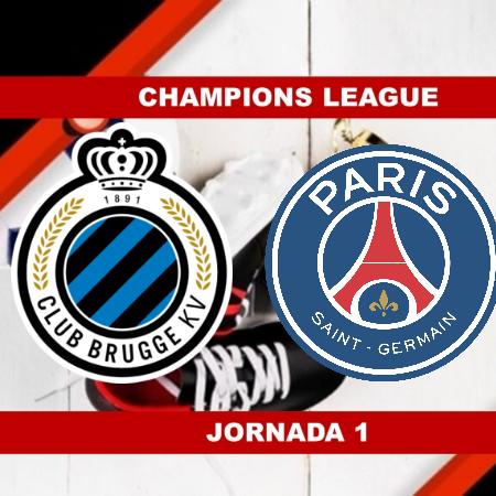 Pronósticos para Champions League   Apostar en el partido Club Brujas vs PSG (15 Sept.)