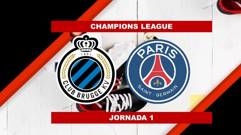 Pronósticos para Champions League | Apostar en el partido Club Brujas vs PSG (15 Sept.)