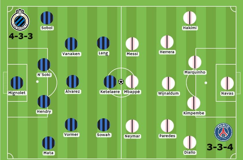 Club Brujas vs PSG apuestas Betsson