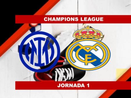 Pronósticos para Champions League | Apostar en el partido Inter de Milán vs Real Madrid (15 Sept.)
