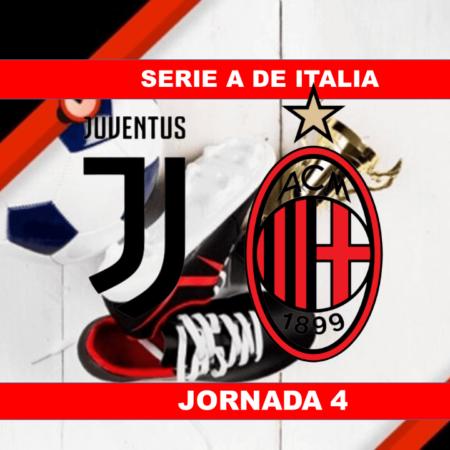 Pronósticos para Serie A de Italia | Apostar en el partido Juventus vs Milán (19 Sept.)