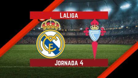 Pronósticos para La Liga | Apostar en el partido Real Madrid vs. Celta de Vigo (12 Sept.)