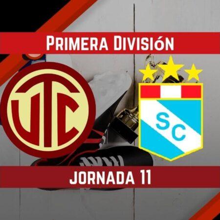 Pronósticos para Liga Peruana | Apostar en el partido UTC Cajamarca vs. Sporting Cristal (17 Sep.)
