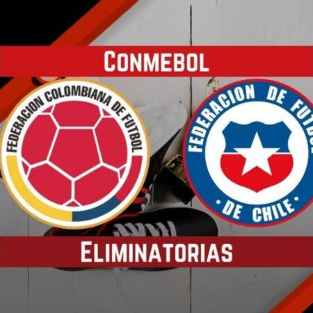 Pronósticos para Eliminatorias CONMEBOL   Apostar en el partido Colombia vs. Chile  (09 Sep.)