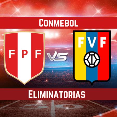 Pronósticos en las eliminatorias Conmebol   Apostar en el partido Perú vs. Venezuela  (05 Sep.)