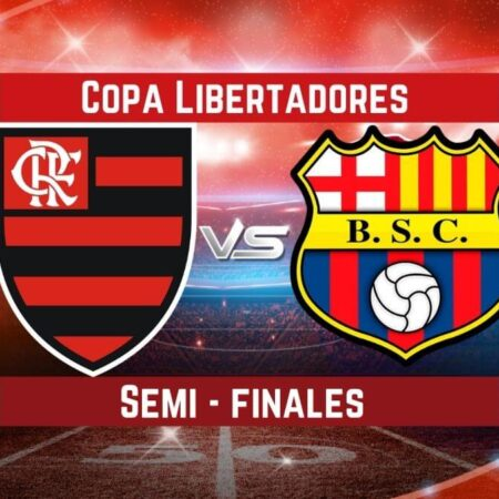 Pronósticos para Semi-finales Copa Libertadores   Apostar en el partido Flamengo vs Barcelona SC  (22 Sep.)