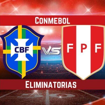 Pronósticos para Eliminatorias CONMEBOL   Apostar en el partido Brasil vs Perú (09 Sep.)