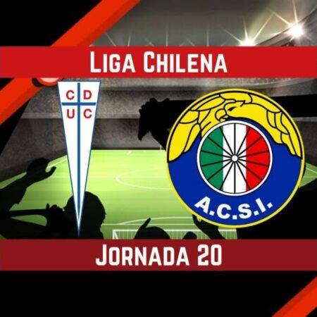 Pronósticos para Liga Chilena | Apostar en el partido Universidad  Católica vs. Audax Italiano (07 Sep.)
