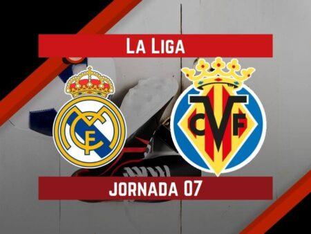 Pronósticos para La Liga | Apostar en el partido Real Madrid vs. Villarreal (25 Sept.)