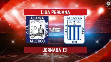 Pronósticos para La Liga Peruana | Apostar en el partido Alianza Atlético vs. Alianza Lima (25 Sep.)