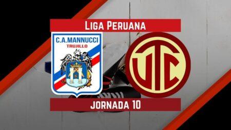 Pronósticos para Liga Peruana | Apostar en el partido Carlos Mannucci Vs. UTC Cajamarca  (12 Sep.)
