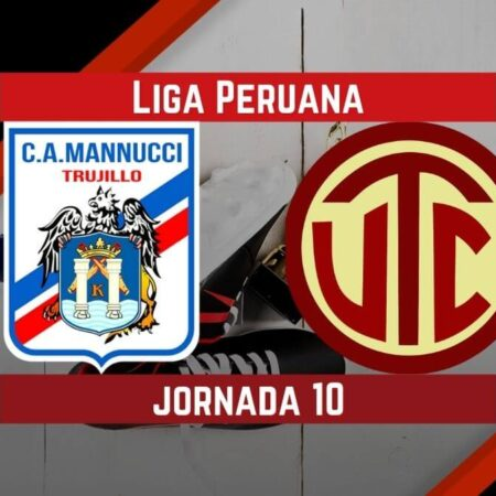 Pronósticos para Liga Peruana   Apostar en el partido Carlos Mannucci Vs. UTC Cajamarca  (12 Sep.)