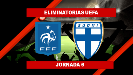 Pronósticos para Eliminatorias UEFA | Apostar en el partido Francia vs Finlandia (7 Sept.)