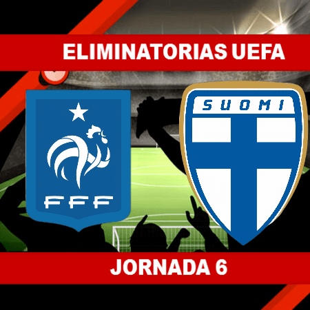 Pronósticos para Eliminatorias UEFA   Apostar en el partido Francia vs Finlandia (7 Sept.)