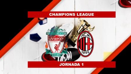 Pronósticos para Champions League | Apostar en el partido Liverpool vs Milán (15 Sept.)