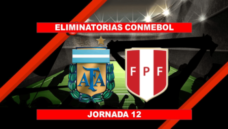 Pronósticos para Eliminatorias Conmebol | Apostar en el partido Argentina vs. Perú (14 Oct.)