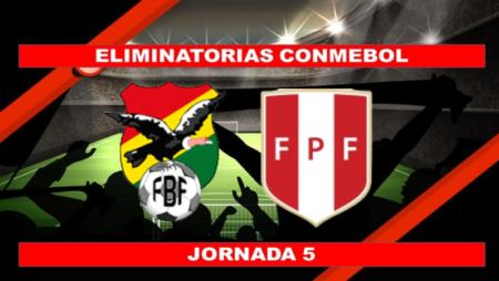 Pronósticos para Eliminatorias Conmebol   Apostar en el partido Bolivia vs. Perú (10 Oct.)
